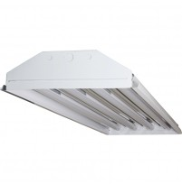 TechBrite 4 Lamp T8 LED High Bay Fixture - 9,000 Lumens - 5000K