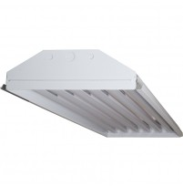 TechBrite 6-Light High Output LED T8 High Bay Fixture - 16,500 Lumens - 5000K