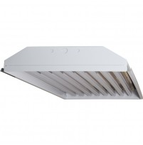 TechBrite 8 Lamp T8 LED High Bay Fixture - 18,000 Lumens - 5000K