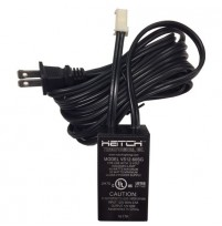 Hatch 60 Watt Electronic Low Voltage Transformer 12V with Cord/Plug/Dimming Loop